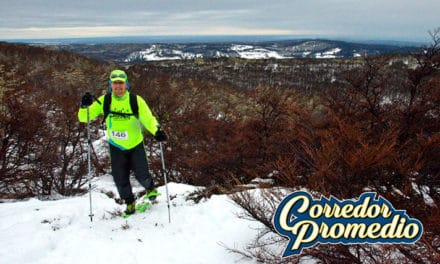 Reir, cantar, comer y correr | Snow Running 2016