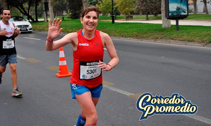 Entel Maratón de Santiago con 25% más de mujeres