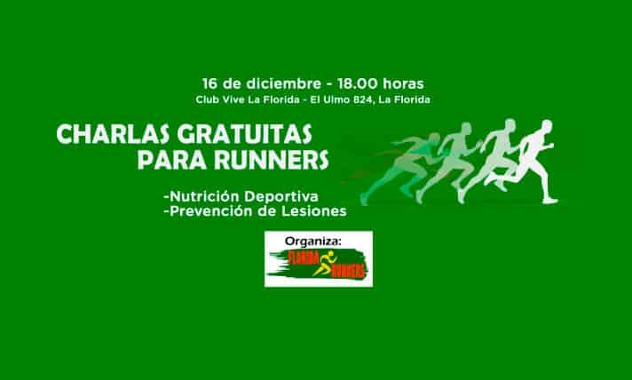 Runners de sector sur de Santiago accederán a taller gratuito sobre nutrición deportiva y prevención de lesiones