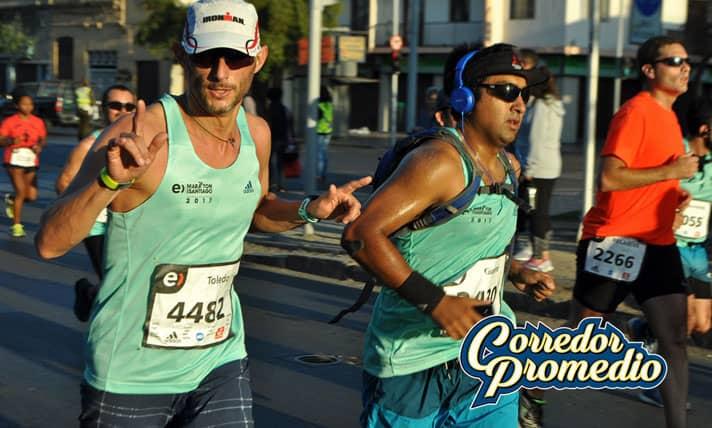 Récord en Maratón de Santiago