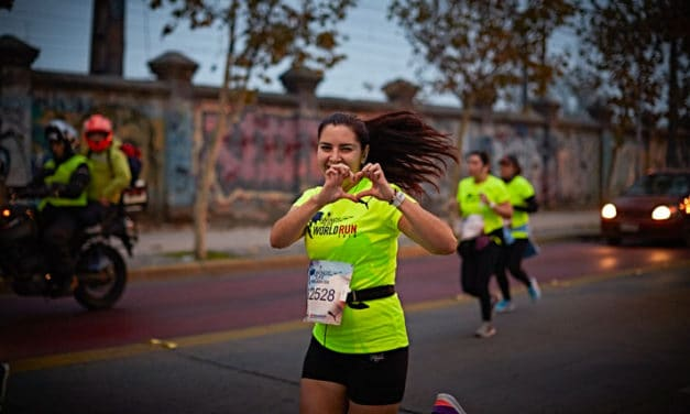 Atletas extranjeros quieren ganar Wings For Life World Run en Chile