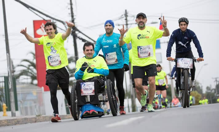 Último entrenamiento para Wings For Life World Run