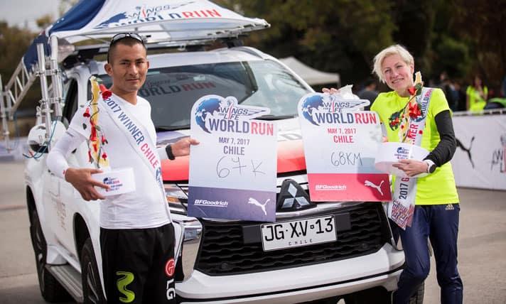 Wings for Life World Run 2017, corriendo por los que no pueden