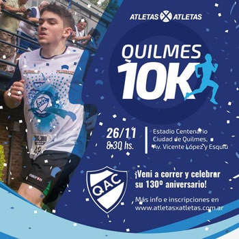 QUILMES 10K @ Quilmes, Buenos Aires | 10K, 3K, 1K | Quilmes | Buenos Aires | Argentina