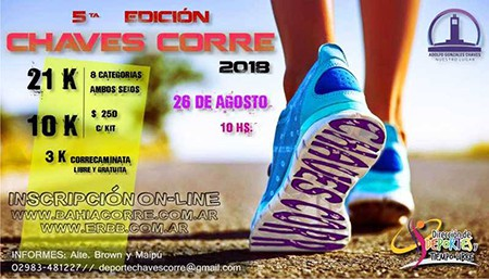 CHAVES CORRE @ Buenos Airess | 21K, 10K, 3K | Adolfo Gonzales Chaves | Buenos Aires | Argentina