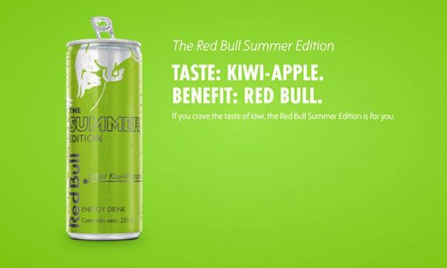 Red Bull lanza nuevo sabor este verano: Kiwi Manzana Summer Edition
