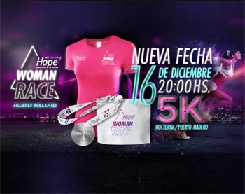 WOMAN RACE BY HOPE @ Buenos Aires | 5K | Buenos Aires | Argentina