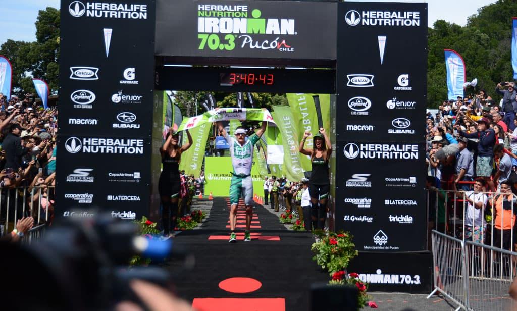 Atletas Skechers se toman el podio en Ironman 70.3 Pucón 2018