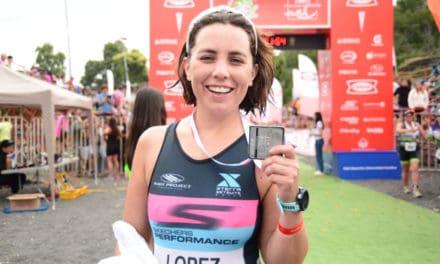"""Lucía López corrió """"la carrera más linda del mundo"""""""