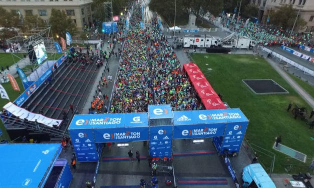 Quedan solo 5.000 cupos para el Entel Maratón de Santiago 2018