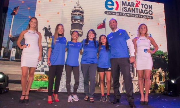 Corredores se vestirán de azul para el Entel Maratón de Santiago 2018