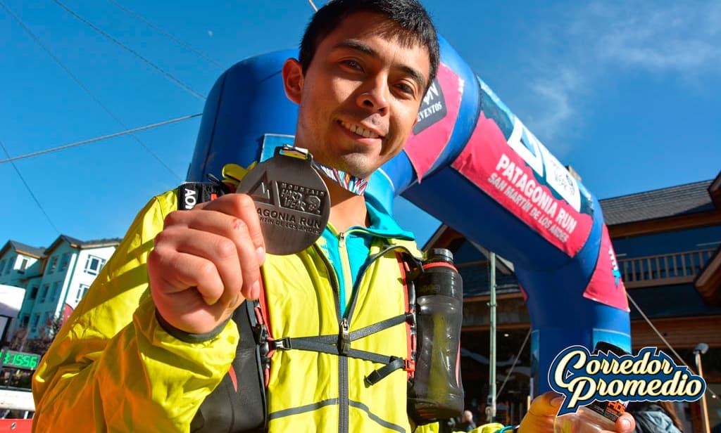 Andres Santana en los 100K de Patagonia Run 2018