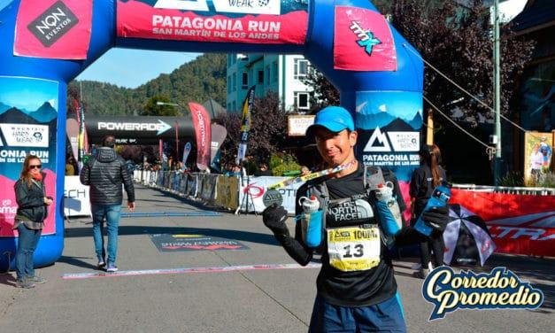 Cristian Herrera y sus 100 millas en Patagonia Run 2018