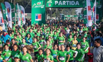 Corrida MILO más grande de Chile cumple 10 años