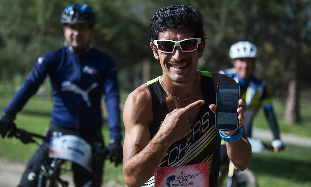 Francisco Méndez y Lucinda Vásquez son los ganadores de la edición chilena de Wings for Life World Run
