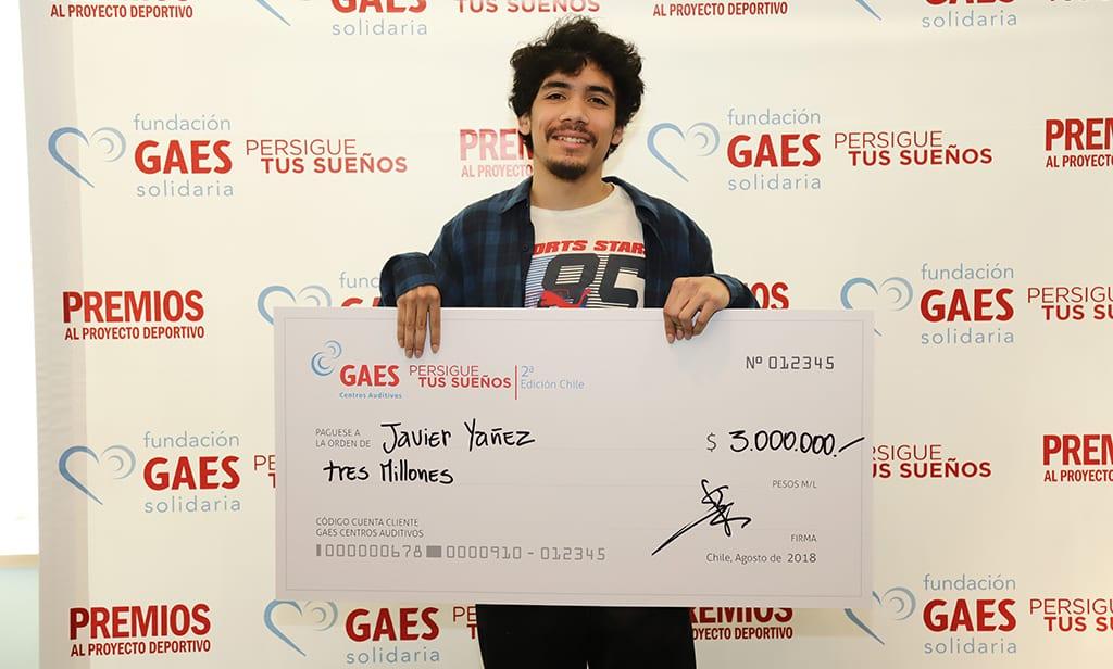 """Javier Yáñez, ganador de beca GAES """"Lo que mi discapacidad me quitó el trail running me lo devolvió"""""""