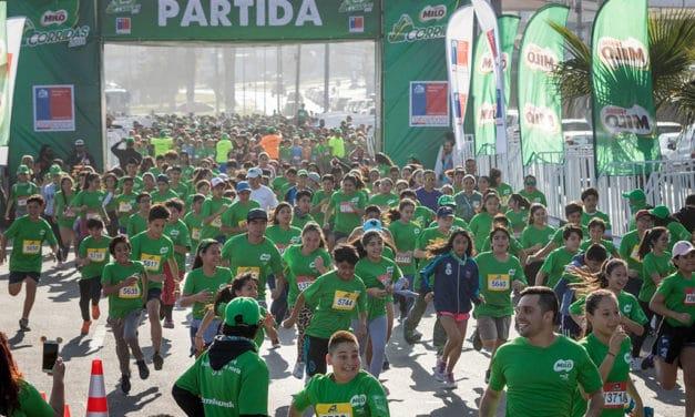 Más de 3 mil escolares pusieron fin a las Corridas MILO en Antofagasta