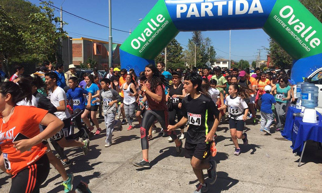 Ovalle se prepara para la 8° Corrida-Media Maratón del Colegio San Viator