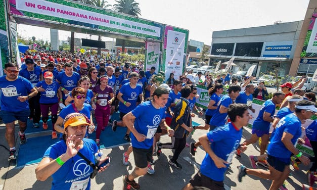 Mall Arauco Quilicura invita a participar en entretenida corrida familiar