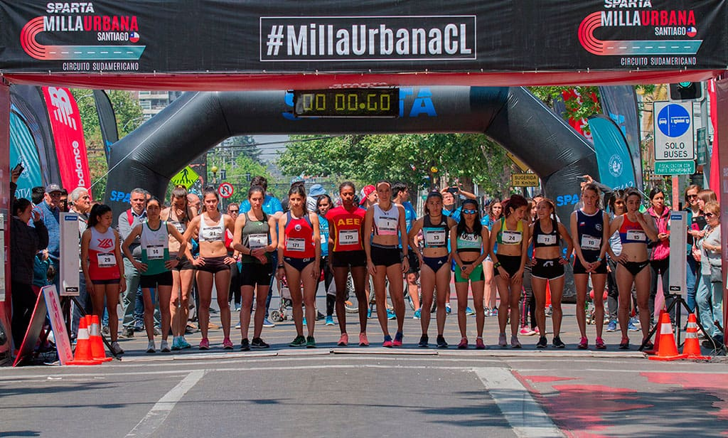 Santiago de Chile vibró con la adrenalina del Circuito Sudamericano de Milla Urbana