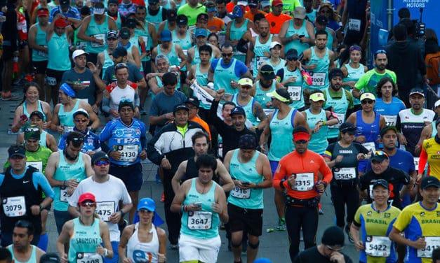 Los números del Maratón de Santiago 2018