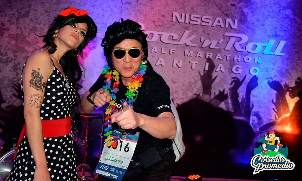 Comenzó la rockera expo de la Nissan Rock'n'roll Half Marathon