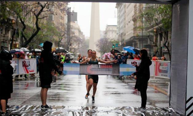 Belen Casetta y Vicente Loza ganadores de la Final del Circuito Sudamericano de Milla Urbana Ciudad de Buenos Aires
