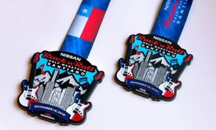 Novedoso sistema de grabado de medallas en Chile