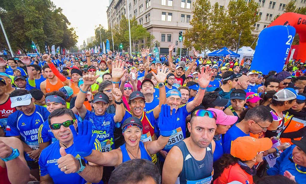 Maratón de Santiago lanza plan de entrenamiento para correr 10K
