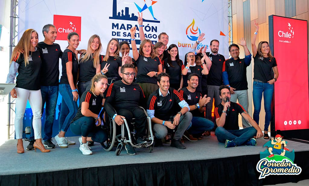 Maratón de Santiago lanza camiseta y anuncia récord para este 2019