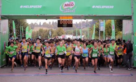 Más de 4.000 niños y niñas dijeron #MeLaPuedo en la Corrida MILO en Osorno