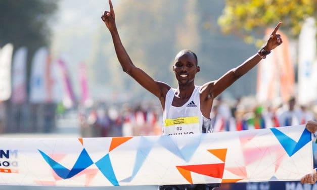 Jacob Chulyo y Gladys Jepkemoi fueron los campeones del Maratón de Santiago 2019
