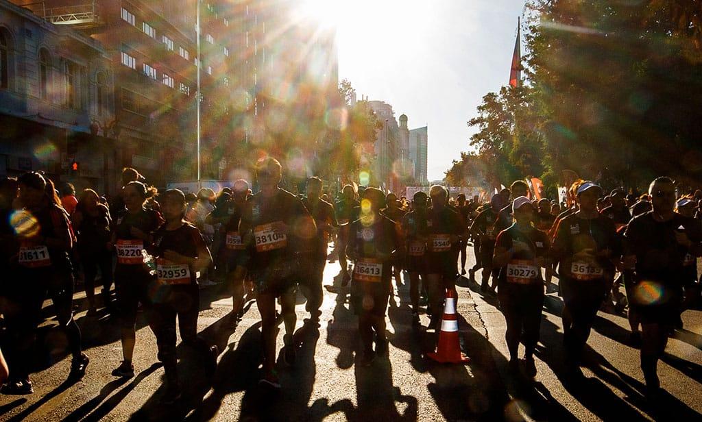 Corredor muere durante el Maratón de Santiago 2019