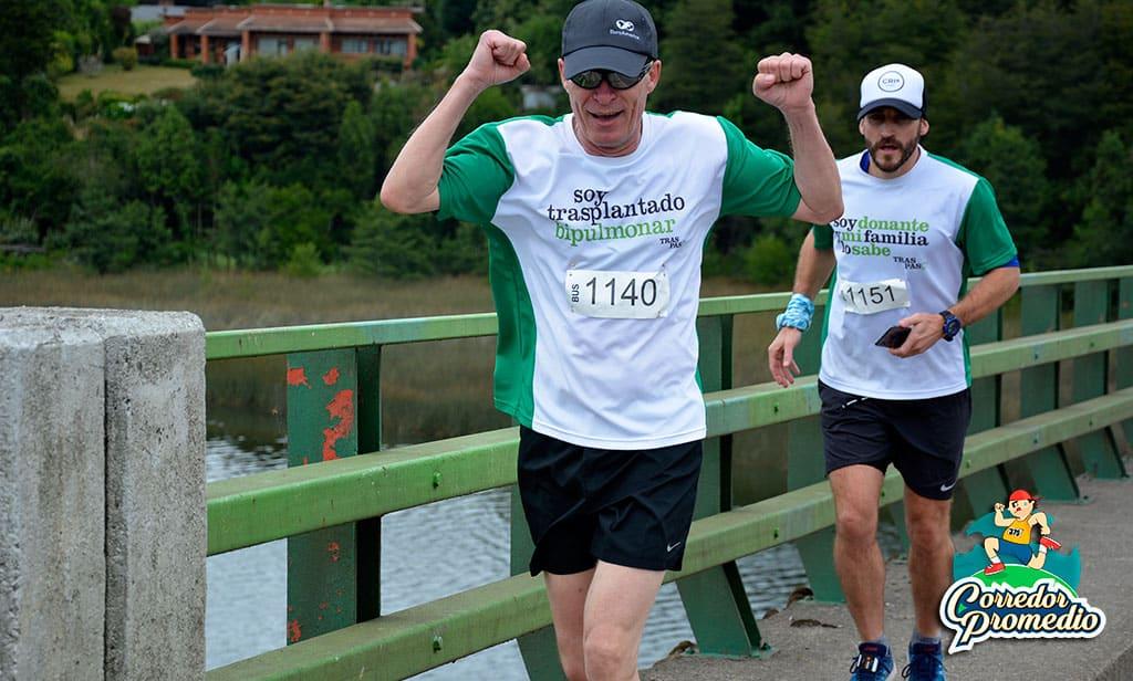 Trasplantado bipulmonar correrá los 42K en Maratón de Santiago