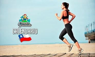 Calendario Corredor Promedio Chile