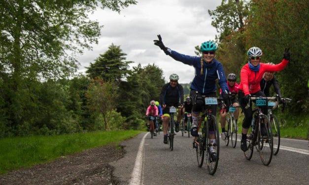 Treintañeras cambian el running por el ciclismo de ruta