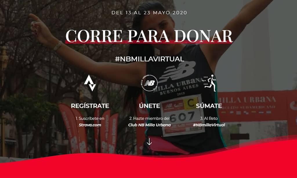 New Balance y Milla Urbana ponen en marcha un nuevo reto: NB Milla Virtual