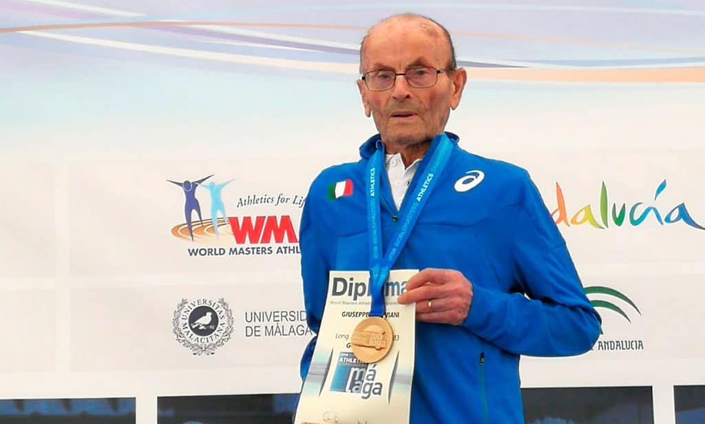 Muere Giuseppe Ottaviani, leyenda del atletismo master