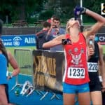Allison Grace Morgan bate el récord mundial de Beer Mile