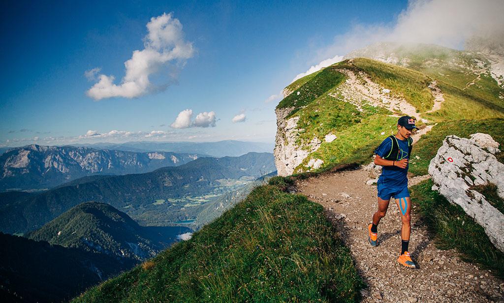 Luka Kovačič recorre los cinco picos más altos de Eslovenia