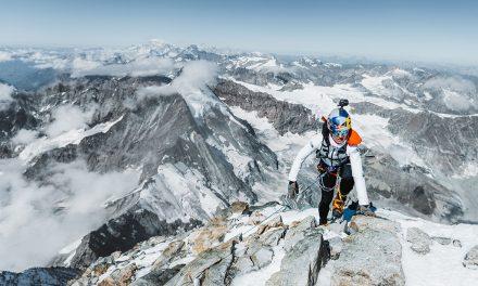 Fernanda Maciel: Gran Paradiso y Matterhorn en un día