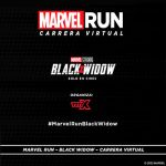 Marvel Run - Black Widow - Carrera Virtual
