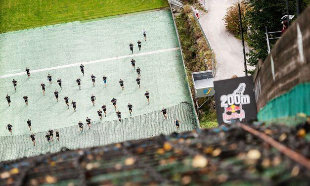 El décimo aniversario del Red Bull 400 se celebró en Bischofshofen