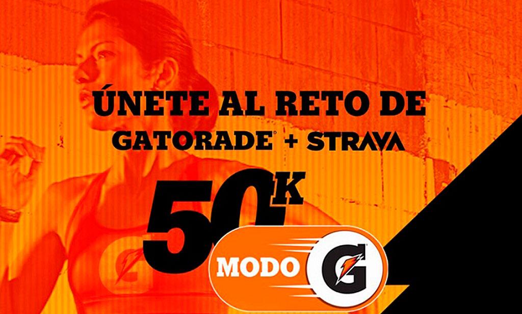 Lo que dejó el Reto 50K de Gatorade y Strava