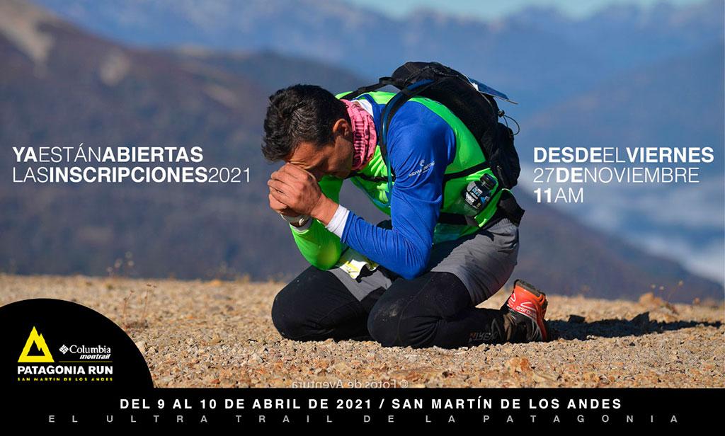 Patagonia Run Columbia Montrail abre sus inscripciones para 2021