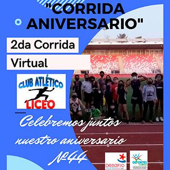 Corrida Virtual Aniversario Club Atlético Liceo