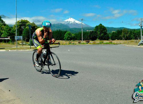 Triatletas chilenos y estrictos protocolos sanitarios serán los protagonistas del Ironman 70.3 Pucón